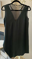 Helmut Lang Dark Green Size S Polyester Party Dress EUC