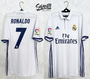 REAL MADRID 2016 2017 JERSEY RONALDO LA LIGA PLAYER ISSUE SHIRT (8)