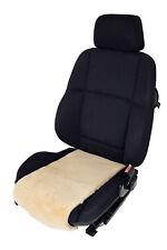 Autositz-Auflage Sitzfläche Lammfell  - Sekt - Breite 30 cm x 70cm