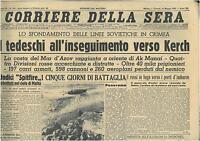 CORRIERE DELLA SERA 14 MAGGIO 1942  GIORNALI DI GUERRA