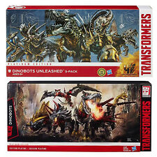 Transformers Hasbro Platinum Edition G1 Dinobots + AOE 4 Unleashed 5 Pack SET