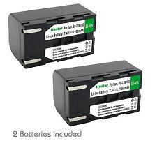 2x Kastar Battery for Samsung SB-LSM160 VP-D365Wi D371 D372 D375 D451 D453 D454