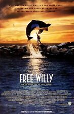 Free Willy movie poster  - 11 x 17 inches - Jason James Richter