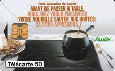 France télécarte 50 Sauter