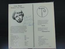 """Ireland's Piano Man - The Man of Many Jackets"" Cahal Dunne Hand Signed Album W/"