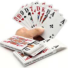 Skat Spielkarten Senioren Skatkarten 2x 32 Blatt Französisch extra große Ziffern
