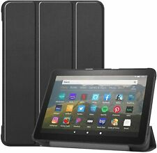 For AMAZON Fire HD 8 Plus Tablet (2020) Case Premium Smart Book Stand Cover