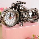 Motorcycle Motorbike Pattern Alarm Clock Creative Home Birthday Gift Clock FG