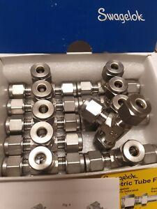 10 Stück - Swagelok  ** NEU** T-Verschraubung Edelstahl, 6mm Rohrverschraubung