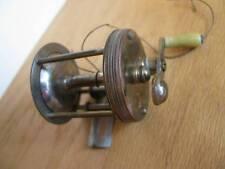 PENNELL TRADEMARK Casting Reel 60 Yard Brass Early Model
