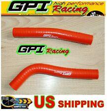 GPI Honda TRX450 TRX450R TRX 450 R 2004 2005 04 05 silicone radiator hose RED