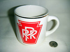 pennsylvania railroad coffee mug/vibrant graphics/gold trim/excellent shape