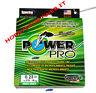 POWER PRO FILO TRECCIATO MT 275  0,23 mm  colore VERDE originale USA