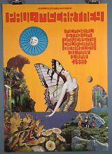 Paul McCartney,1990 Concert Poster Signed David Singer