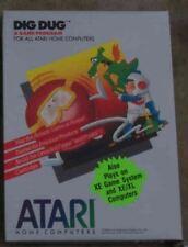 Dig Dug Atari 800/XL/XE New Brown Cartridge NIB