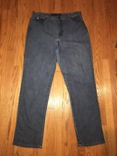 GLORIA VANDERBILT Vintage Classic 100% Cotton GV Jeans Pants Womens Sz 16 TALL #