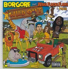 Borgore-Wild Out Promo cd single