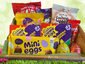 Easter Eggs Gift Hamper Variations Present Chocolate Hamper Him Her Adults Kids