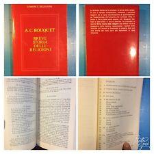 82 -R Uomini E Religioni. Breve Storia Delle Religioni. Bouquet.1990 Mondadori