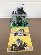 VINTAGE / RETRO LEGO 6074 BLACK FALCON FORTRESS INSTRUCTIONS & EXTRA KNIGHTS