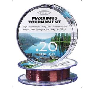 Fladen Maxximus Tournament 30lb Fishing Line 250m Main FISHING LINE 250 Meters
