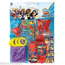 48 PEZZI Dc Super Eroe Ragazze Supergirl Bambini Festa Bottino regalo favore Pack