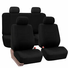 Seat Covers for Car Truck SUV Van Universal Fit Solid Black