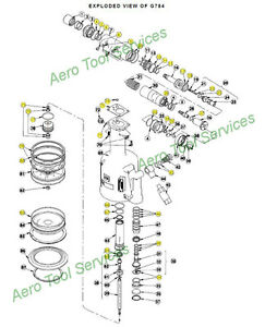 Cherry G784 Overhaul O-Ring Seal Kit G784KS