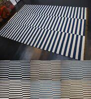 IKEA Kattrup Wolle Kelim Teppich Handarbeit Schurwolle fein verschiedene Größe