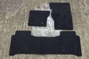 RANGE ROVER VOGUE 2013-2019 L405 SWB CARPET FLOOR MATS NAVY BLACK LHD GENUINE