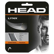 NEW Head LYNX  Anthracite 16 G Guage Tennis String 40 foot Pack forty ft Set