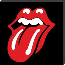 The Rolling Stones Canvas Print Lips Classic Album Cover Canvas 40x40x2.5cm