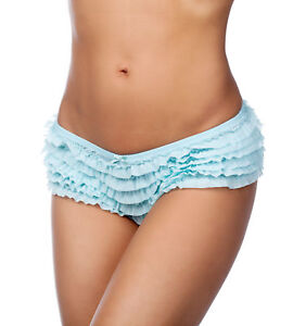 Honeydew Intimates Low Rise Ruffle Chiffon Tier Rumba Boyshort Panties 007-2