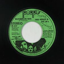 New listing Funk 45 - Fred Wesley & The JB's - Watermelon Man - People - mp3 - promo!