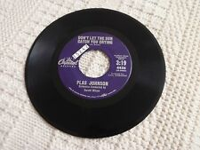 PLAS JOHNSON DON'T LET THE SUN CATCH YOU CRYING/TANYA CAPITOL 4436