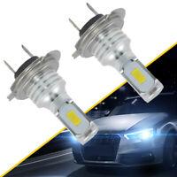 2x H7 LED Headlights Bulbs Kit High/Low Beam 80W 1000LM 6000K-7000K Ice Blue Hot