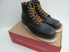 bnib RED WING shoes 8859 UK 8 Moc Toe 6-Inch Boot Navy Portage Leather 8859 -0