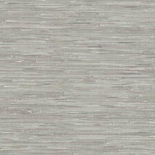2657-22268 Ami Charming Prints Grasscloth Effect Grey Fine Decor Wallpaper
