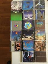 YES LOT OF 22 CD'S REMASTERED INSTANT COLLECTION FRAGILE EDGE RELAYER 22 LOT CD