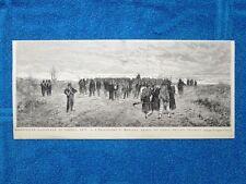 Esposizione nazionale di Napoli 1877: I prigionieri di Mentana, di O. Carlandi