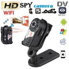 Mini WIFI DVR P2P WiFi IP Camera Indoor Outdoor HD DV Hidden Spy Remote Camera H