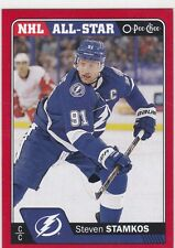 STEVEN STAMKOS 2016-17 16-17 OPC O-PEE-CHEE RED PARALLEL #101 TAMPA BAY !