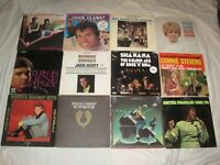 LOT of Classic Rock Pop Oldies LP's Record Albums R&B Teen Top 40 Sixties '70s