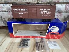 USA Trains/Charles Ro G Scale Southern Railway Brown Boxcar #1954, C-7 Excellent