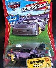 DISNEY PIXAR CARS MODELLINI: IMPOUND BOOST with CONFETTI Race O Rama