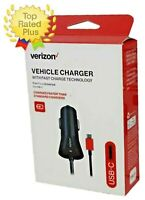 OEM Verizon Type C Fast Car Charger for Galaxy S10e, S10+, S10, Note 10/9 S9 S8