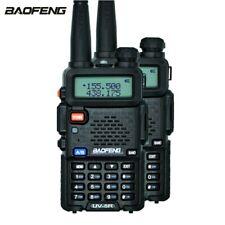 1 Pair BaoFeng UV-5R Two Way Radio Dual Band DTMF CTCSS FM Ham Walkie Talkies