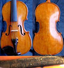Listen to Video! 4/4 Antique English violin Stradivarius 19th Fiddle 小提琴 ヴァイオリン