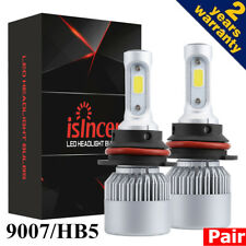 2x AOTOGO HB5 9007 688W 68800LM LED HEADLIGHTS Kits HI-LO BEAM 6000K BULB LAMP L