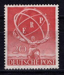 """Berlin 1950, Nr. 71 Y als Abart """"fehlender Ring"""", postfrisch mit Fotoattest"""